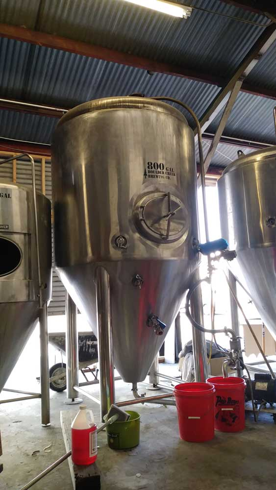 Wingwalker Brewing Tanks